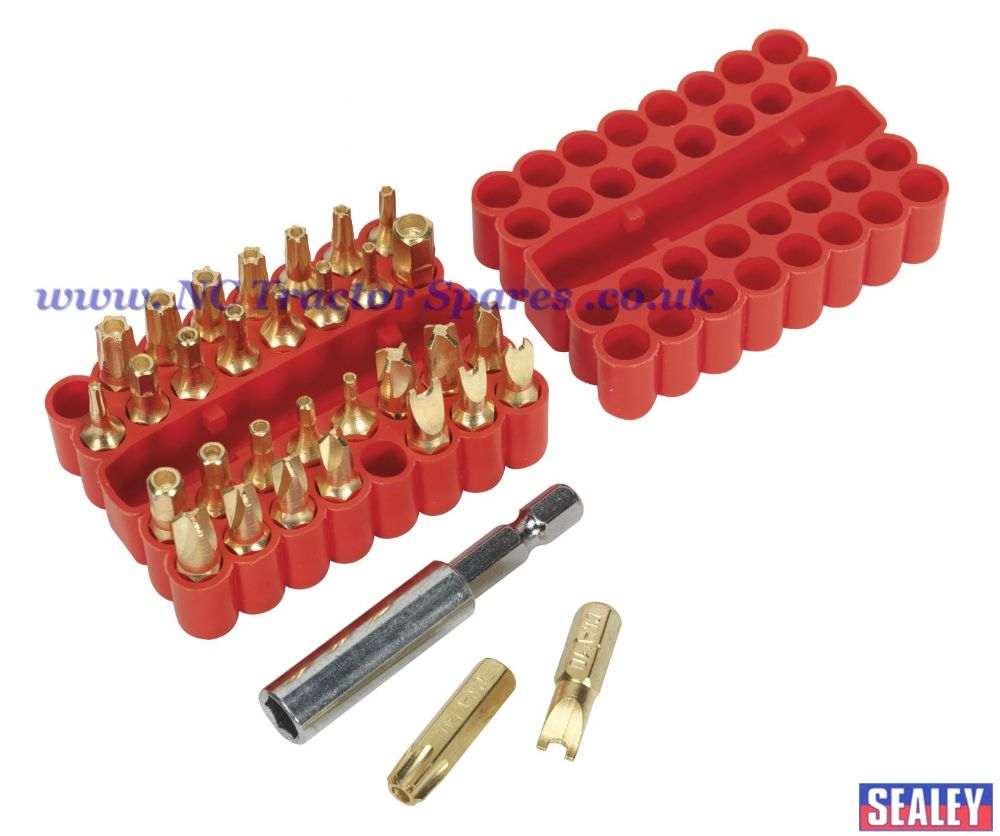 Security Bit & Magnetic Adaptor Set 33pc